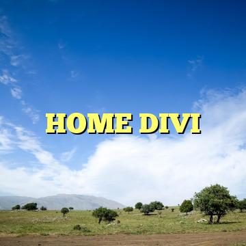 HOME DIVI